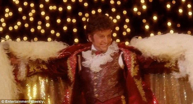 Dazzling in the limelight: Michael Douglas portrays Liberace in the film set for release on May 26