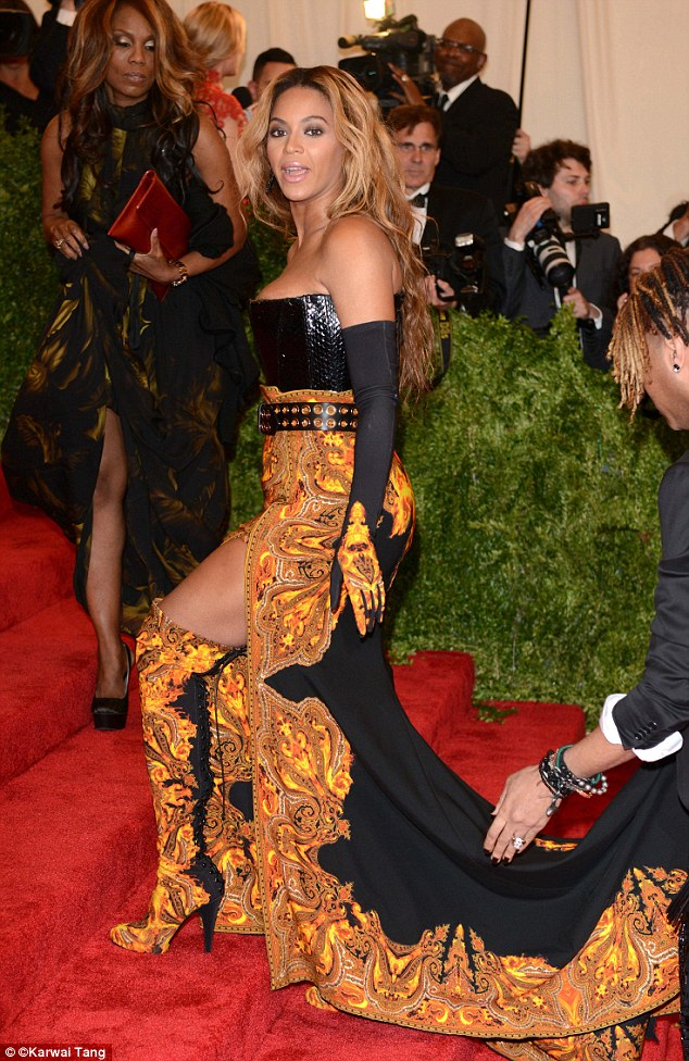 Beyoncé's Met Gala look was reportedly designed to conceal her growing tummy