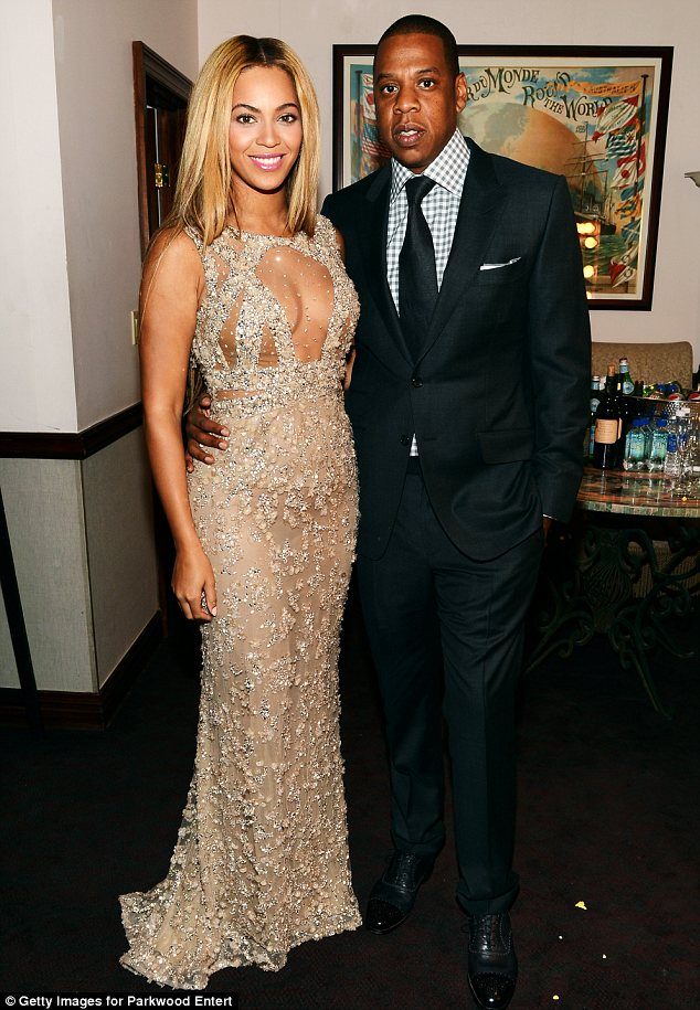 Baby daddy: Jay-Z and Beyoncé welcomed their daughter into the world in January 2012