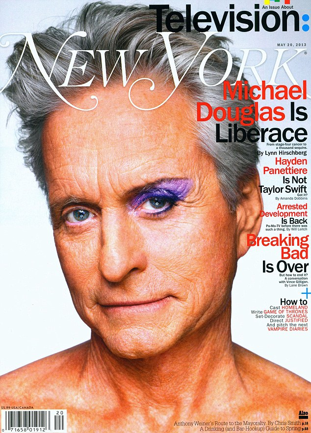 Cover boy: Michael opened up on his cancer battle to New York magazine