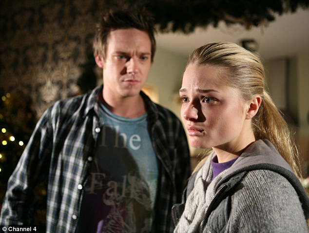Emotional: Emma won a Best Actress Award for her portrayal of Hannah Ashworth's anorexia struggle in Hollyoaks