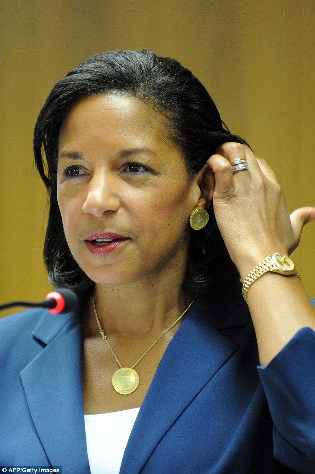 The controversial talking points were used by Susan Rice in her appearance on five news shows on Sunday, Sept. 16, and also sent to Congress