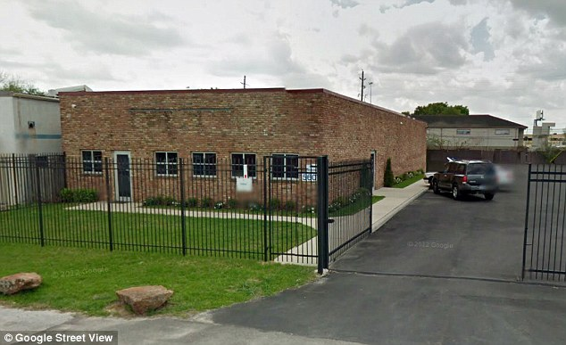 Crime scene: The hellish scenes allegedly took place at the Aaron Women's Clinic, pictured, in Houston in 2011, and possibly two other abortion clinics run by Karpen in Texas