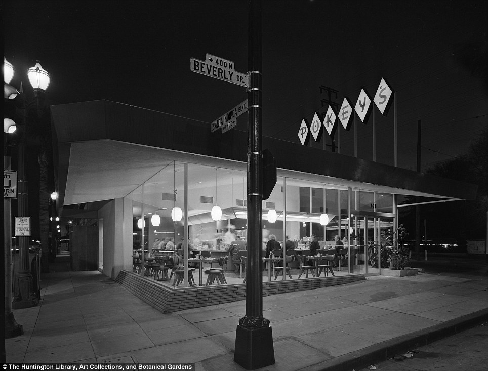 Evening meal at Pokeys: The collection of 70,000 photographs offers a twentieth century vision of better living through electrification