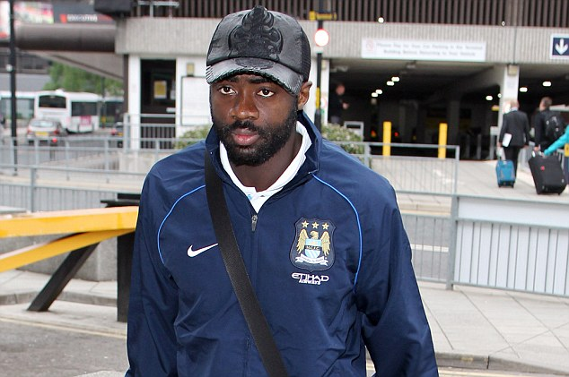 Incoming? Kolo Toure's Manchester City contract expires at the end of June