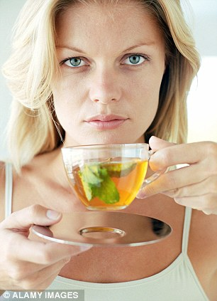 Apigenin - found in the tea - can block the ability of breast cancer cells to live far longer than normal cells, halting their spread