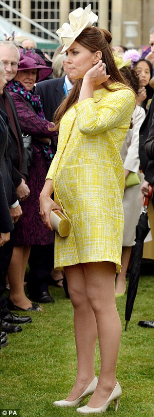 Good time: The royals are joined by up to 8,000 guests at each royal garden party, and each consumes around 14 cucumber sandwiches