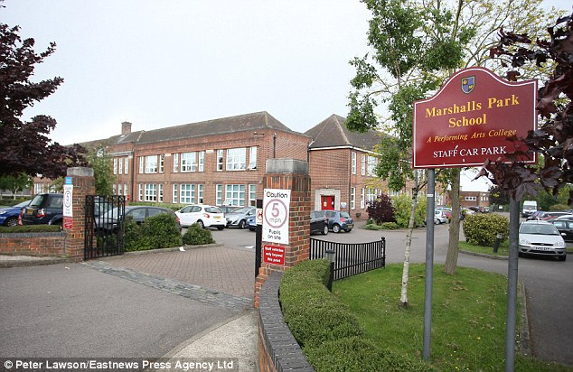 Education: The terrror suspect attended Marshalls Park school in Romford and is said to have been studying there when he coverted to Islam