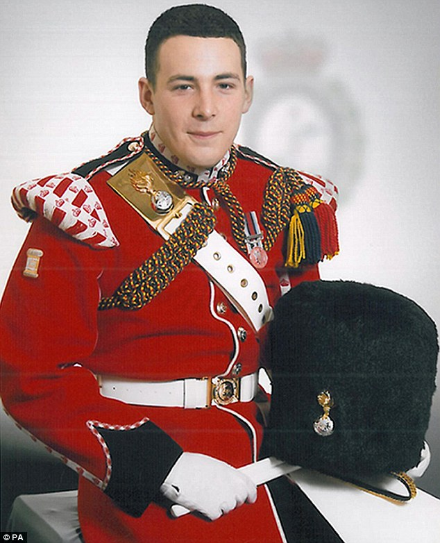 Brutal killing: Drummer Lee Rigby, 25, from the 2nd Battalion, Royal Regiment of Fusiliers who was murdered in Woolwich