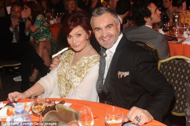 The Osbournes: For those about to rock how about a good night's sleep (and for families too). Sharon Osbourne pictured with Martyn Lawrence Bullard
