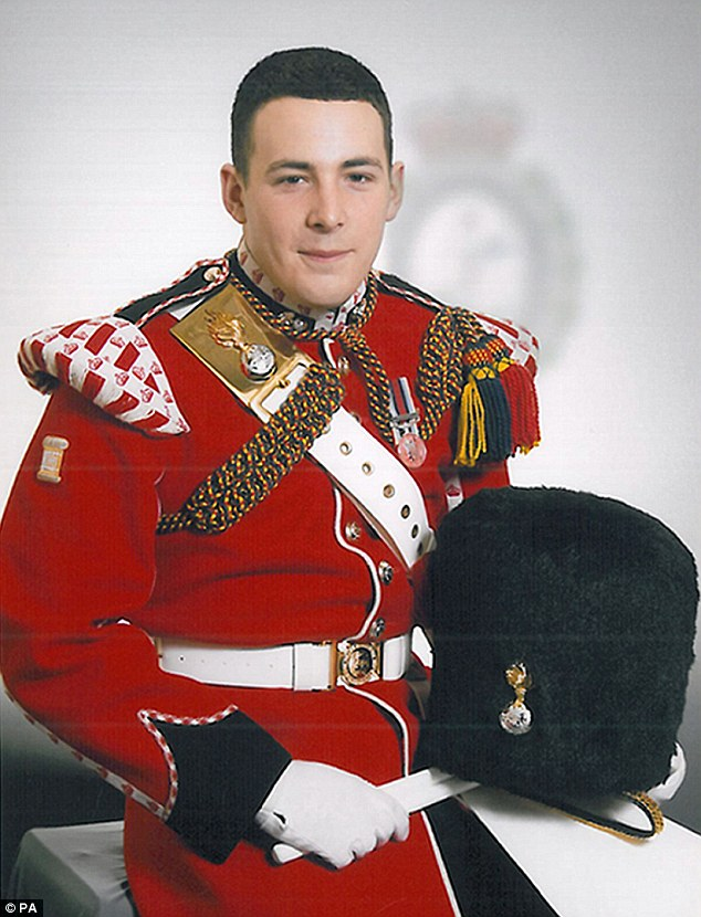 Drummer Lee Rigby from the 2nd Battalion Royal Regiment of Fusiliers who was hacked to death in Woolwich