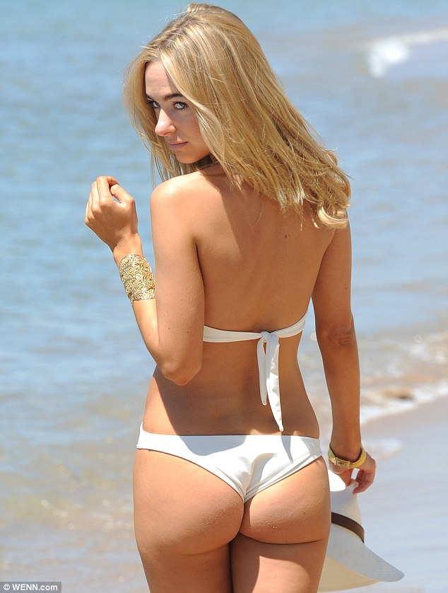 Kimberley Garner Is The Best Advert For Her Own Designs As