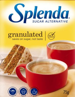 Sugar substitute Splenda is made of sucralose, which has been found to affect blood glucose and insulin levels