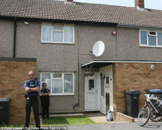 Investigation: Police outside the home of Tony McLernon last year