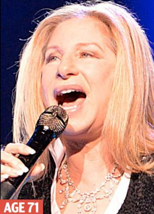 Smooth: Barbra Streisand swears by sunscreen