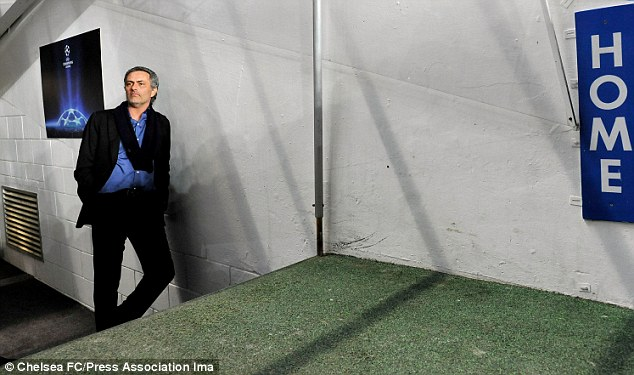 Welcome home: Mourinho says he has two passions in football, Chelsea and Inter