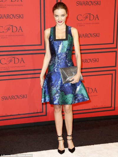 miranda kerr cdfa awards 2013