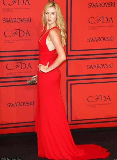 Ireland Baldwin at CFDA awards 2013