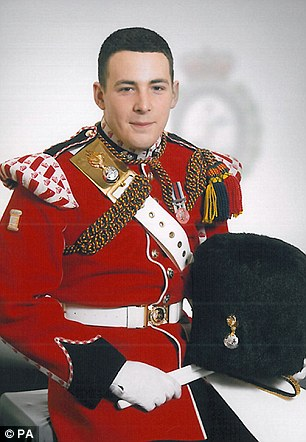 Death: Drummer Lee Rigby, 25, was killed on May 22 in Woolwich, south-east London
