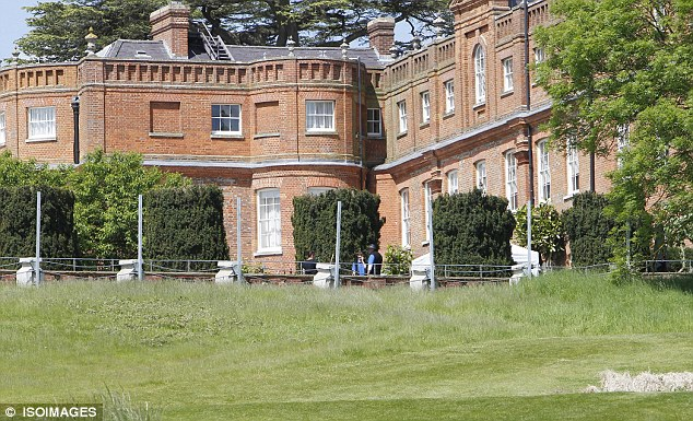 Luxurious: The secretive conference will take place at the five-star Grove Hotel near Watford, Hertfordshire and a major police security operation has started today