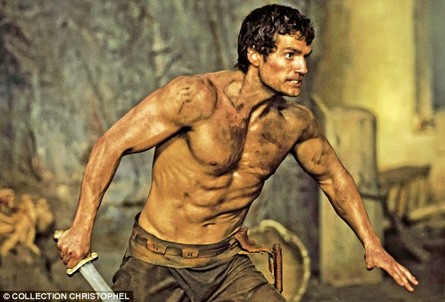 'There are a lot of great British actors who aren't public school-educated and they are doing well. But I do think public school does give you a sense of fortitude,' said Henry (pictured in the Immortals)