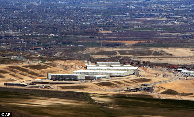 Construction: The Utah Data near Bluffdale, where personal data extracted by the NSA could be stored