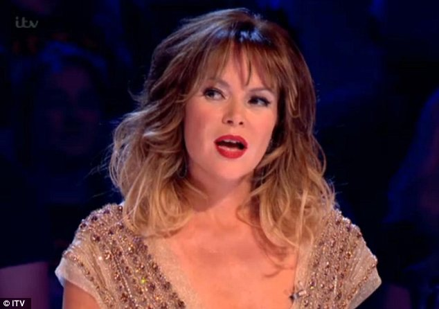 Harsh words! Amanda Holden spoke of her fury as Simon Cowell was egged during the final of Britain's Got Talent