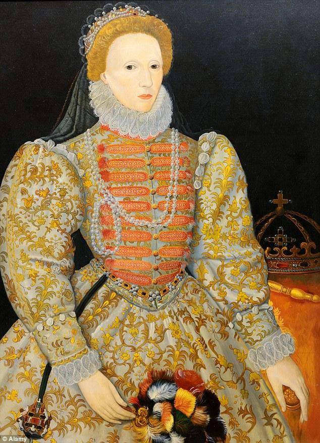 Esta pintura de un artista desconocido es conocido como el 'retrato Darnley' después de un dueño anterior, y es de alrededor de 1575