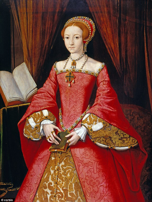 Attributed to painter William Scrots, this portrait is of Elizabeth I as a Princess in 1546-7