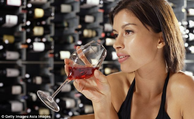 A glass of wine was one of the items on the list of things that Britons cannot do without