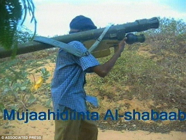 Not the first time: A terror cell in Somalia recently claimed to have a surface-to-air missile like this one.