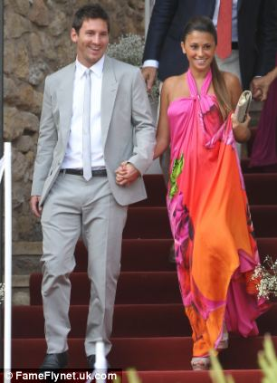Messi, pictured here with girlfriend Antonella Roccuzzo, have always fulfilled all our tax obligations, following the advice of our tax consultants, who will take care of clarifying this situation