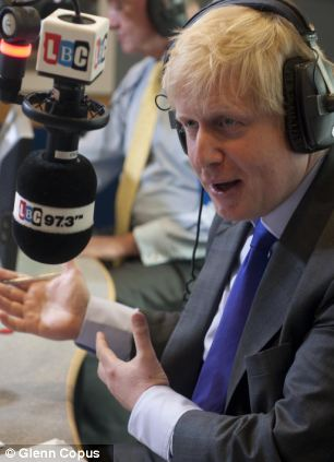 Boris Johnson dismissed the Deputy Prime Minister as an 'idle bum'