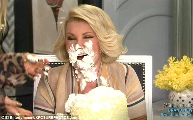 Joan Rivers Celebrates Her 80th Birthday With Cake In Her