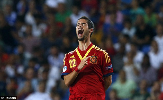 Star man: Isco has shone for Spain at the European Under 21 Championships