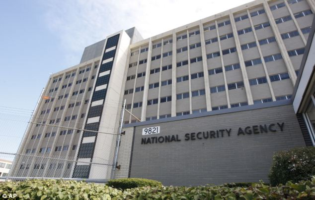 More revelations: Sources have claimed that government agencies, including the NSA, FBI and CIA, have secret partnerships with large businesses to hand over sensitive information