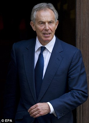 Unfounded: Aides for Tony Blair have emphatically denied outrageous Internet rumours that he was romantically involved with Wendi Deng