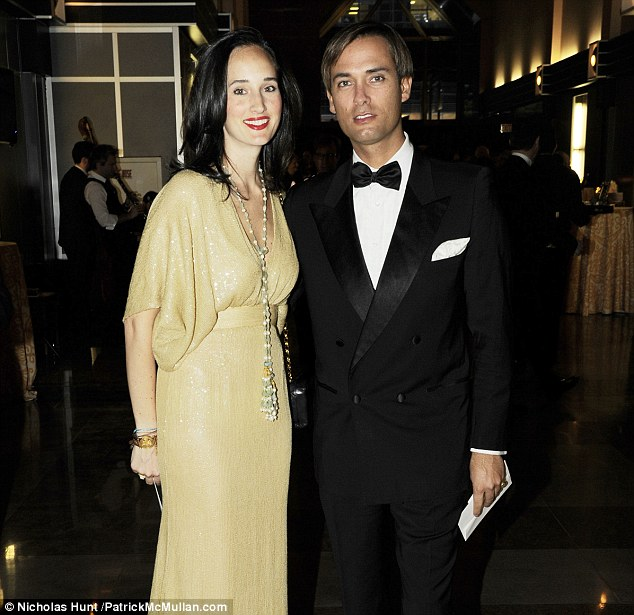Accusations: Socialites Malu Custer Edwards, 29, left, and Mickey Hurley, 35, right, are being sued by their former nanny and now a former photographer released emails that he exchanged with the husband
