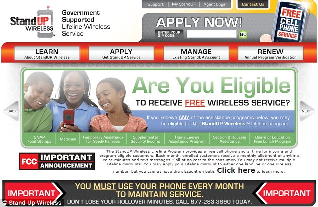 Dozens of companies like Stand Up Wireless hawk 'Lifeline' program participation - largely in urban areas - because they collect a fee for every person they enroll and supply with a basic no-frills mobile phone