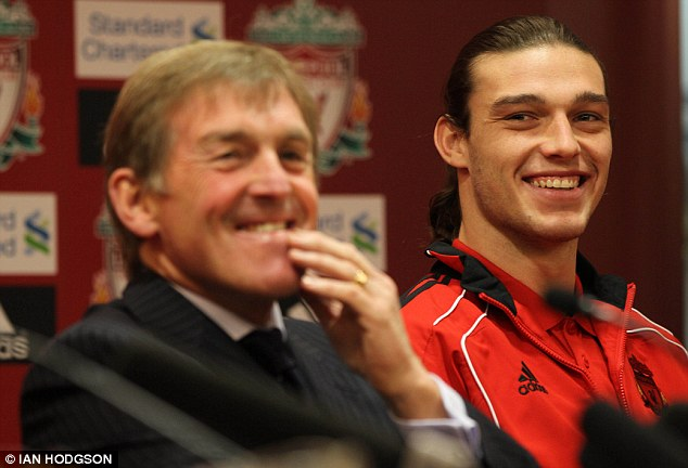 Kenny Dalglish and Andy Carroll