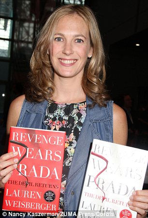 In Vogue: Author Lauren Weisberger (left) famously leaned on her time working as an assistant to Anna Wintour (right) for material for the two books