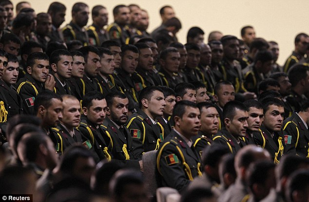 The Afghan Army has swelled in size since 2007, and now numbers more than 350,000