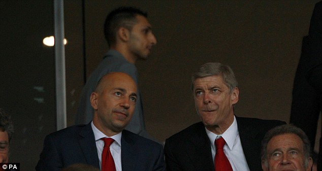 Change in policy: Arsene Wenger is now finally splashing the cash
