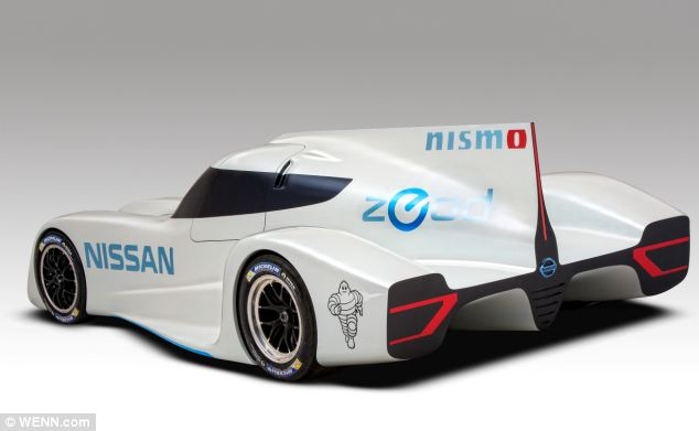 The technology in Nissan's ZEOD RC is a modified version of the electric engine used in it LEAF road car.