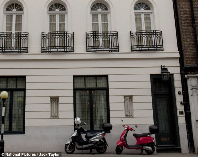 She has fled to a £10,000-a-week Mayfair apartment after the public row