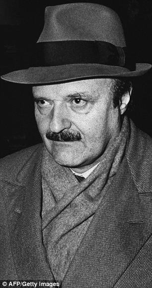Involved with the Vatican Bank: Roberto Calvi, the head of Banco Ambrosiano, was found hanging from Blackfriars Bridge in London in 1982