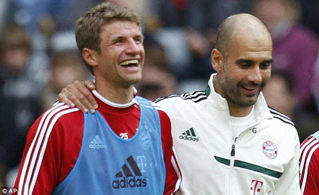 Guardiola and Muller