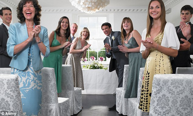 Wedded to our X Factor: Weddings are not entertainment - we should not be clapping during them