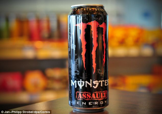 Powerful: The company claims that the drink has safe levels of caffeine but says its target is for over 18s