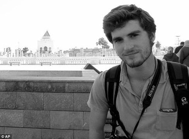 Student Andrew Pochter, 21, died while photographing clashes between opponents and supporters of President Mohamed Morsi in Alexandria, Egypt